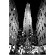 Trademark Global Yale Gurney Rockefeller Night Canvas Art, 19 x 14