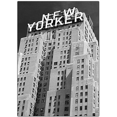 Trademark Global Yale Gurney in.New Yorkerin. Canvas Art, 24in. x 18in.
