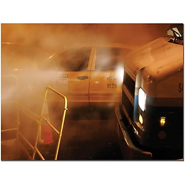 Trademark Global Yale Gurney in.Taxiin. Canvas Art, 14in. x 19in.