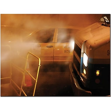 Trademark Global Yale Gurney in.Taxiin. Canvas Art, 18in. x 24in.