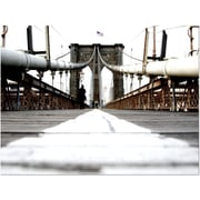 Trademark Global Yale Gurney Brooklyn Bridge Canvas Art, 24 x 32