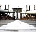Trademark Global Yale Gurney in.Brooklyn Bridgein. Canvas Art, 30in. x 47in.