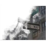 "Trademark Global Yale Gurney ""One Way"" Canvas Art, 24"" x 18"""