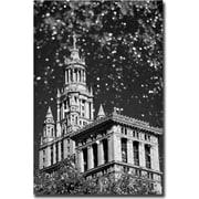 Trademark Global Yale Gurney Waterfall Over City Hall Canvas Art, 24 x 16