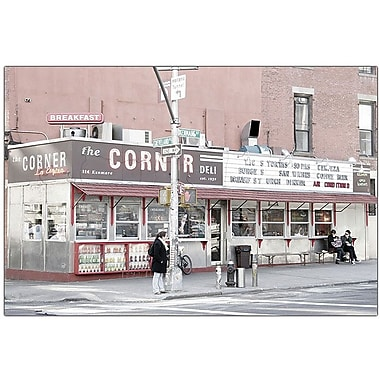 Trademark Global Yale Gurney The Corner Deliin. Canvas Art, 18in. x 24in.