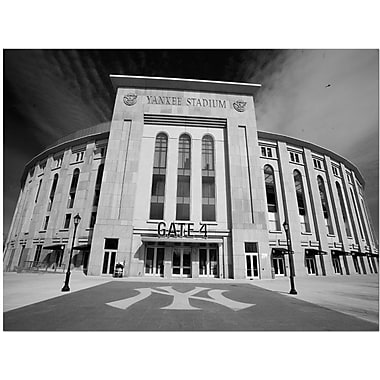 Trademark Global Yale Gurney in.The Stadiumin. Canvas Art, 18in. x 24in.