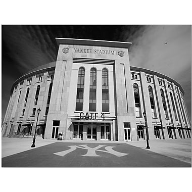 Trademark Global Yale Gurney in.The Stadiumin. Canvas Art, 24in. x 32in.