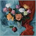 Trademark Global Yelena Lamm in.A Dozen Rosesin. Canvas Art, 18in. x 18in.