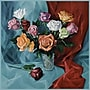 Trademark Global Yelena Lamm A Dozen Roses Canvas