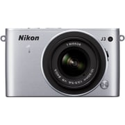 Nikon 1 J3 Digital Camera with 10-30mm VR NIKKOR Lens, Silver