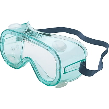 Uvex A600 Series Goggles, Clear Anti-Fog Lens