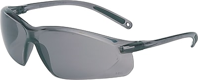 North A700 Series Anti scratch Safety Glasses Gray Lens