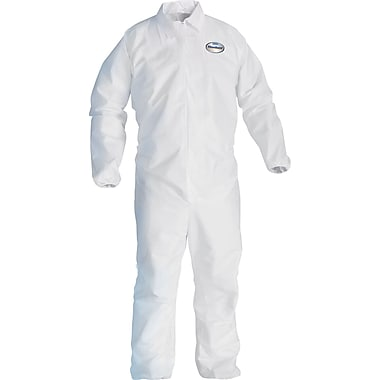 KleenGuard A40 Liquid Apparel Coveralls 2-Extra-Large White 25/Carton (44315)