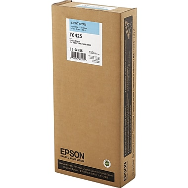 Epson T642 Light Cyan UltraChrome HDR Ink Cartridge (T642500), 150ml