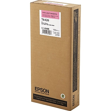 Epson T642 Light Magenta UltraChrome HDR Ink Cartridge (T642600), 150ml