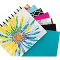 M by Staples™ Arc Customizable Durable Poly Notebook System, Clear, 6 3/8in. x 8 3/4in.