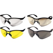 Dentec 937 Citation Safety Glasses Series Eyewear Black frame with paddle temples