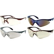 Dentec 937 Citation Safety Glasses Series Eyewear - Polished Painted Frame with Paddle Temples