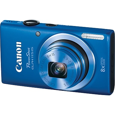 Canon PowerShot ELPH 115 IS Digital Camera, Blue