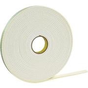 """3M™ Double-Sided Foam Tape, 1"""" x 5 yds., White (T9554462R)"""