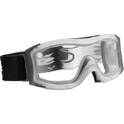 Bolle Safety Duo Goggles, Frosted Frame, Clear Lens, Antifog & Antiscratch Coating