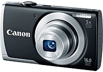 Canon PowerShot A2500 Digital Camera, Black