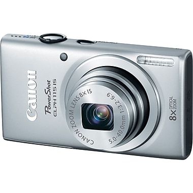 Canon PowerShot ELPH 115 IS Digital Camera, Silver