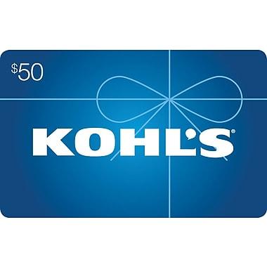 Kohls Gift Card $50