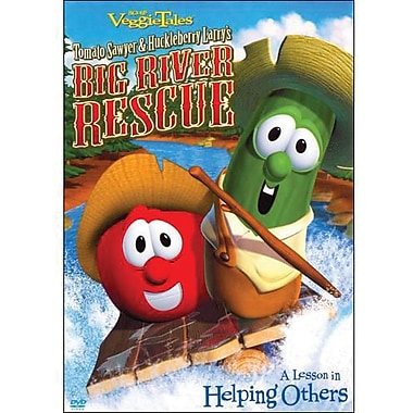 Veggie Tales: Tomato Sawyer and Huckleberry's Big River Rescue