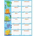 Carson-Dellosa FUNky Frogs Birthday Chart