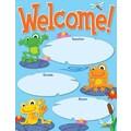 Carson-Dellosa FUNky Frogs Welcome Chart