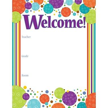 Carson-Dellosa Calypso Welcome Chart