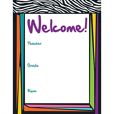 Carson-Dellosa Wild Style Welcome Chart