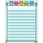 Carson-Dellosa Publishing 114197 Colorful Owls Incentive Chart