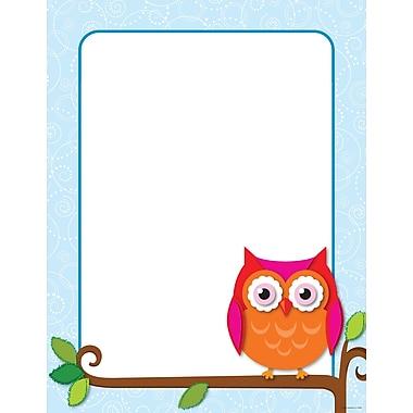 Carson-Dellosa Colorful Owls Chart