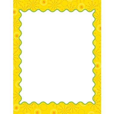 Carson-Dellosa Lemon Lime Computer Paper