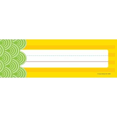 Carson-Dellosa Lemon Lime Nameplate