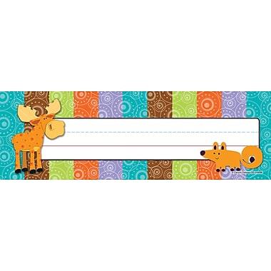Carson-Dellosa Moose & Friends Nameplate