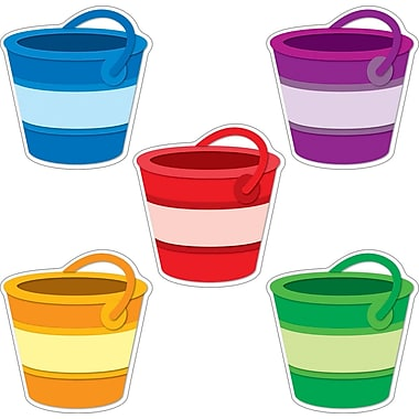 Carson-Dellosa Buckets Cut-Outs