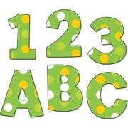 """Carson-Dellosa Publishing 130043 4.25"""" x 5.5"""" DieCut EZ Letters, Lemon Lime"""