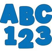 """Carson-Dellosa Publishing 130049 4.25"""" x 5.5"""" DieCut EZ Letters, Blue"""