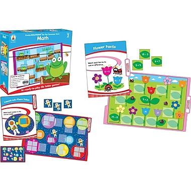 Carson-Dellosa Math File Folder Game, Grade 2