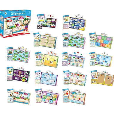 Carson-Dellosa Language Arts File Folder Game, Grade K