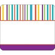 Carson-Dellosa Calypso Name Tags - Stripes, Grades PK - 5