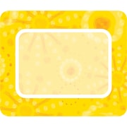 Carson-Dellosa Lemon Lime Name Tags - Orange, Grades PK - 5