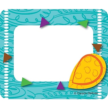 Carson-Dellosa Teal Appeal Name Tags, Grades PK - 5