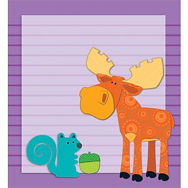 Carson-Dellosa Publishing 151049 Moose & Friends Notepad