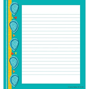 Carson-Dellosa Teal Appeal Notes Notepad