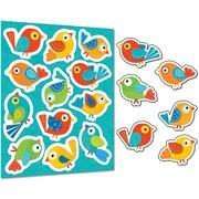 Carson-Dellosa Boho Birds Stickers, Grades PK - 8