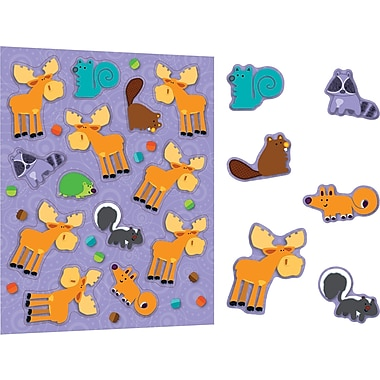 Carson-Dellosa Moose & Friends Stickers, Grades PK - 8